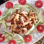 Marco's mixed fried seafood tempura--yum!