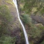Horsetail Falls on the Columbia River Gorge