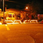 Roadrunner at night