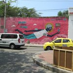 loved this and all the murals in Cartagena