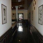 Hotel corridor upstairs