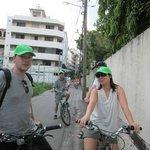 Un tour en vélo