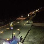 same view at night. very quiet on the malecon