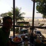 Nice beach,nice breakfast
