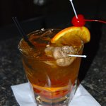 Be sure to try our signature drink, an Old Fashioned.