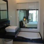Room comes with huge Jacuzzi