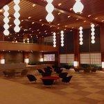 Hotel Okura Main Lobby (night)