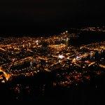 ベルゲンの夜景