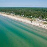 11km of freshwater beach!