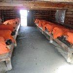 受刑者の休憩所(刑務所外で作業時の宿泊所)