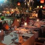 Dining high lights at Eat Sense Beach Restaurant.