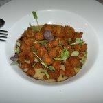 Mollejas de cordero rebozadas- Restaurante La Vieja Bodega (Casalarreina)