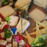 Landfrühstück: alles Käse