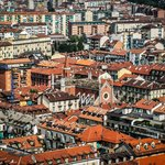 Turin view from the top pf Mole Antonelliana