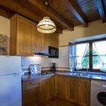 Apartamento La Cuadrina: Cocina