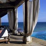 Cliff Villa verandah