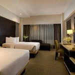 Kamar hotel santika deluxe
