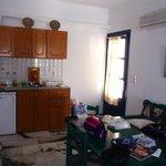 Coin cuisine salle à manger pièce principale