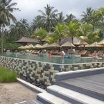 View of infinity pool