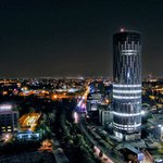 Tallest building in Romania, house of Entre Aromas (exterior view)