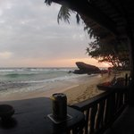 Sundown vom Restaurant