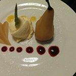 Poach pear
