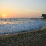 Sunset from Eka