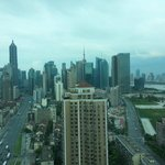 View of Pudong from my room