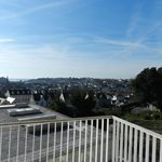View of St Helier from our balcony