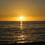 il tramonto sul Golfo del Messico