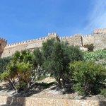 Alcazabar from below