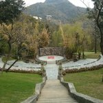 Amphitheatre where yoga classes are held