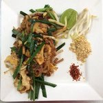 finished pad thai