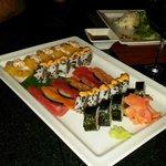 Amazing sushi at Himitsu