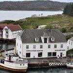 Handelstaden Glesvær med overnatting og kafe 40 min fra Bergen
