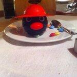 Highlight of the evening - Pingu ice cream