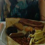 Huge Irish breakfast at El Molino.
