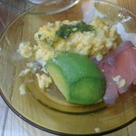 nothing awesome - eggs needed salt, hardest avocado ever served