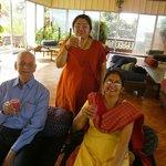 Saying Cheers for Good Health