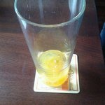 Pint of squash £2. Great value.