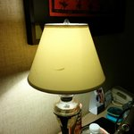 Scratched lamp cover