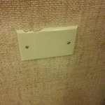 cracked wall outlet cover