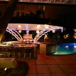 View of the pool bar