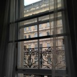 Window in Our Room with View of Trafalgar Square
