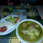 Sancocho de gallina (chiken hen stew soup)