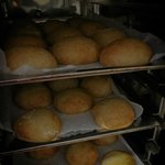 baked home made bread