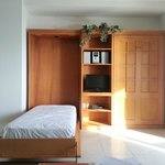 Murphy beds in the living room