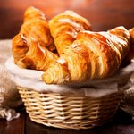Nothing beats fresh croissants delivered to you in the morning