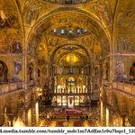 Interno della Basilica di San Marco a Venezia