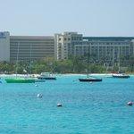 Hilton visto da Baía